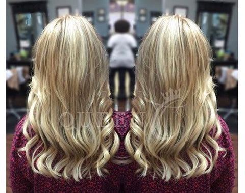 Kellye Bomb Blonde AIRess Hair Extensions Why You Should Wear AIRess Hair Extensions