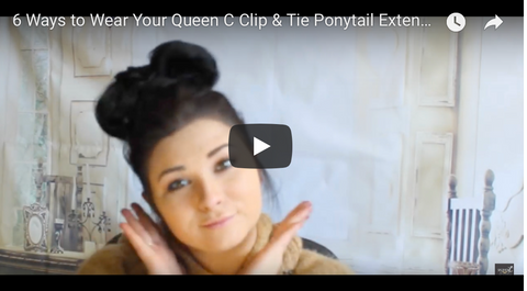 ways to wear your ponytail tutorial