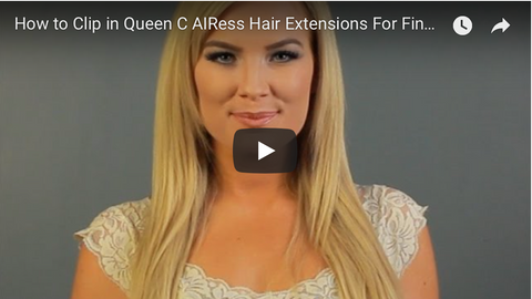 How to put in the best hair extensions for fine hair thin hair