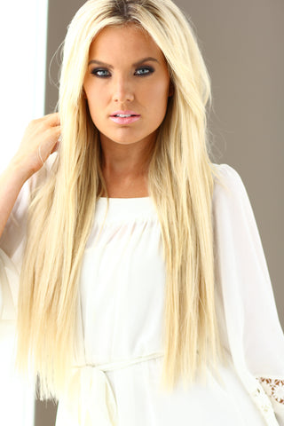 Miss Tennessee Allee Sutton Hethcoat wearing Queen C Hair Extensions