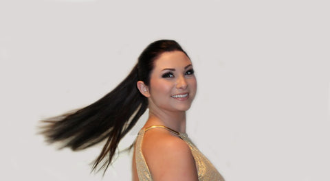 Swinging Clip & Tie Ponytail Extension by Queen C Hair Extensions