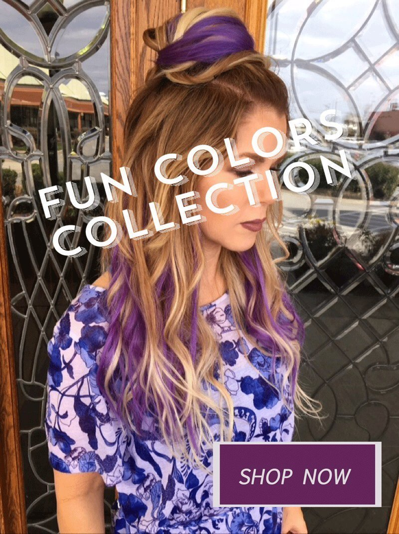 Queen C Hair Winter Accent Color