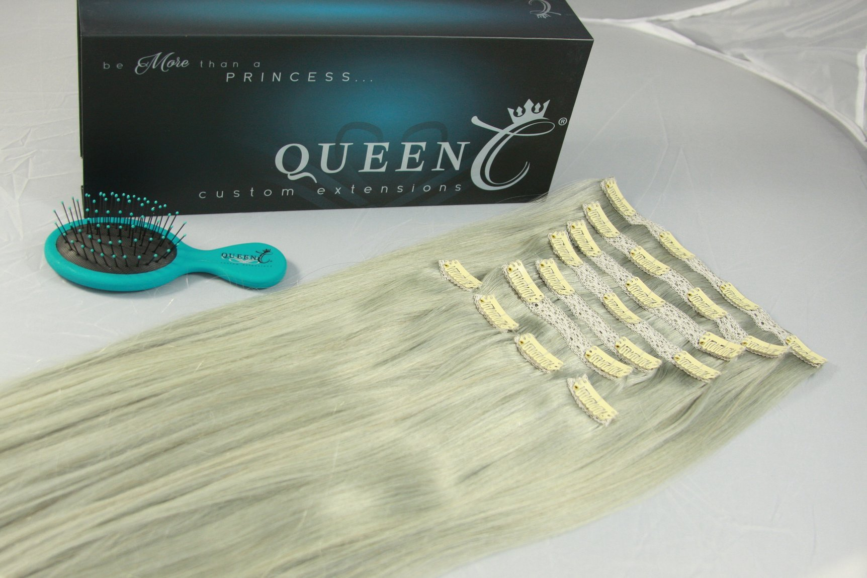 Queen C Hair Extensions AIRess Clip & Tie Ponytail
