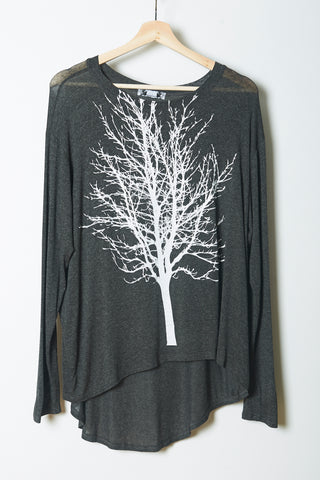 Tree Branch Birds Long Sleeve
