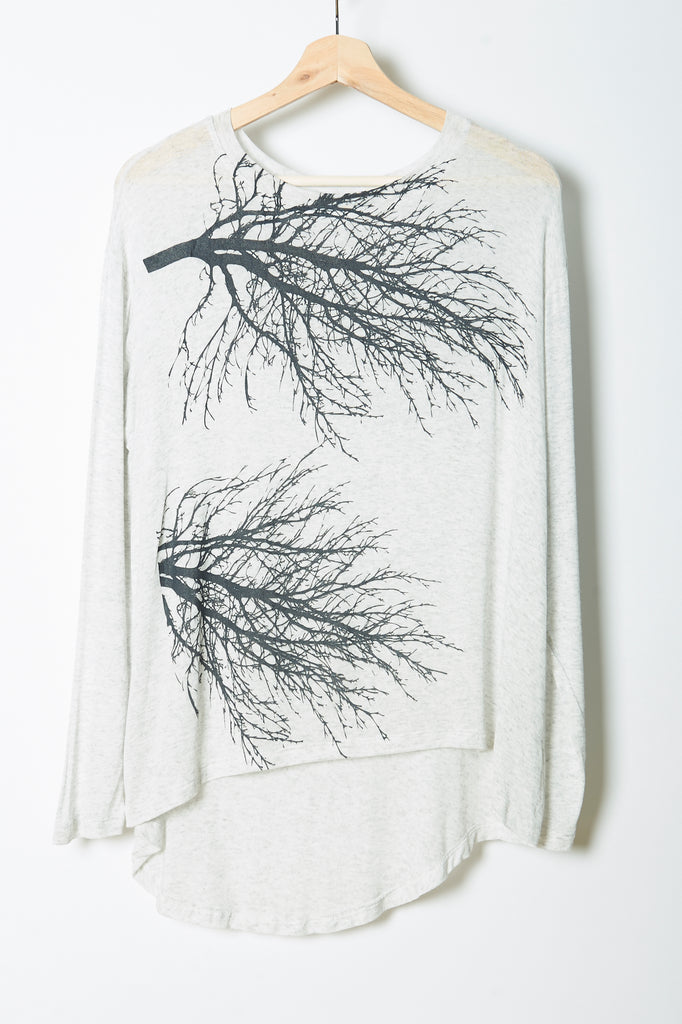WABI SABI SALE Two Trees Boxy Long Sleeve- with code is $22.50
