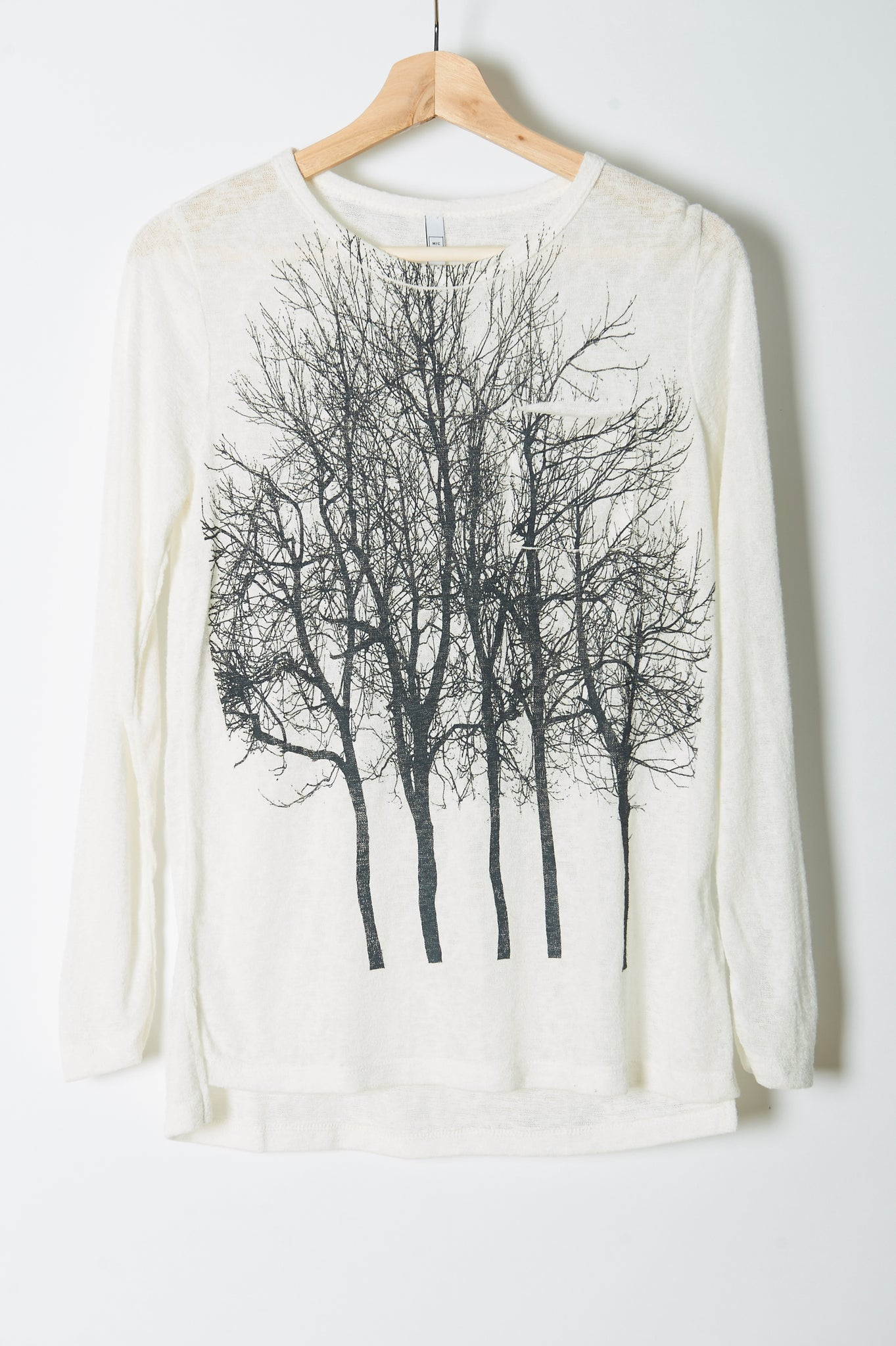 Fairytale Trees Long Sleeve Cream