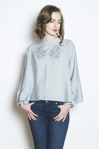 The Poetry of Moon - Cowl Neck with discount code - $66