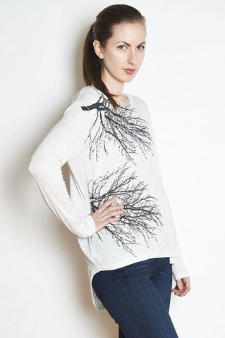 Two Trees Boxy Long Sleeve