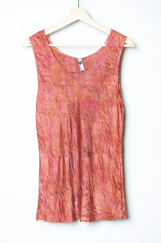 WABI SABI  NYC Pigeon Tank A-Line Flowy Cut- with code is 24