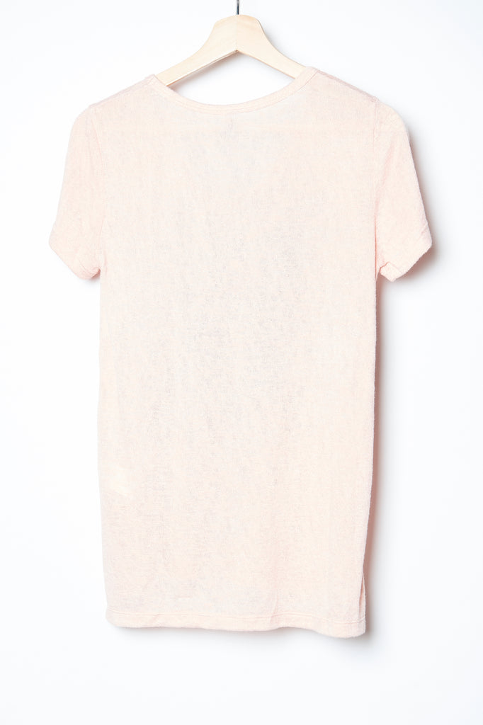 WABI SABI SALE Fairytale Vneck Tee Peach with code is $20.25