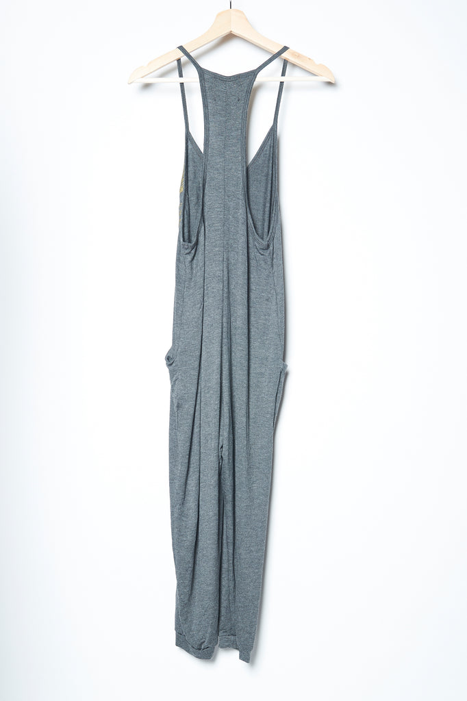 WABI SABI SALE Peacock Jumpsuit - Gray-with discount code is $37.50