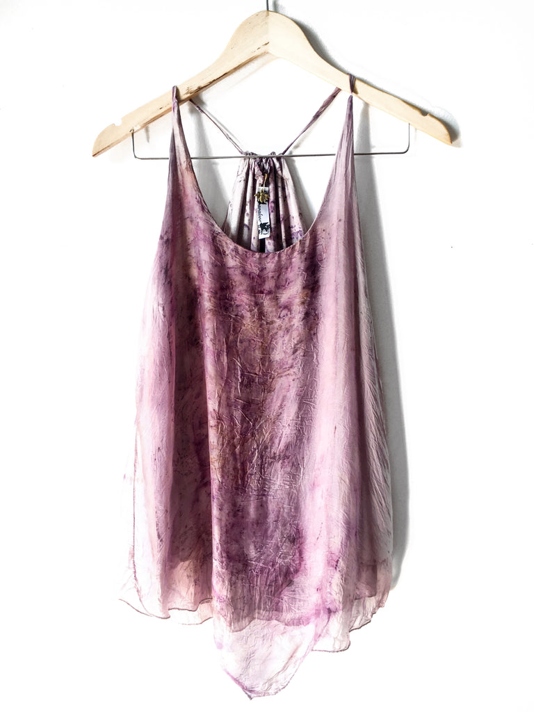 Botanics Flower Flowy Tank Purple