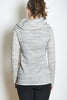 Fairytale Trees Sweatshirt Cowl Heather Grey with code is $148.50