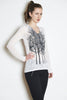 WABI SABI SALE Fairytale Trees Long Sleeve in White
