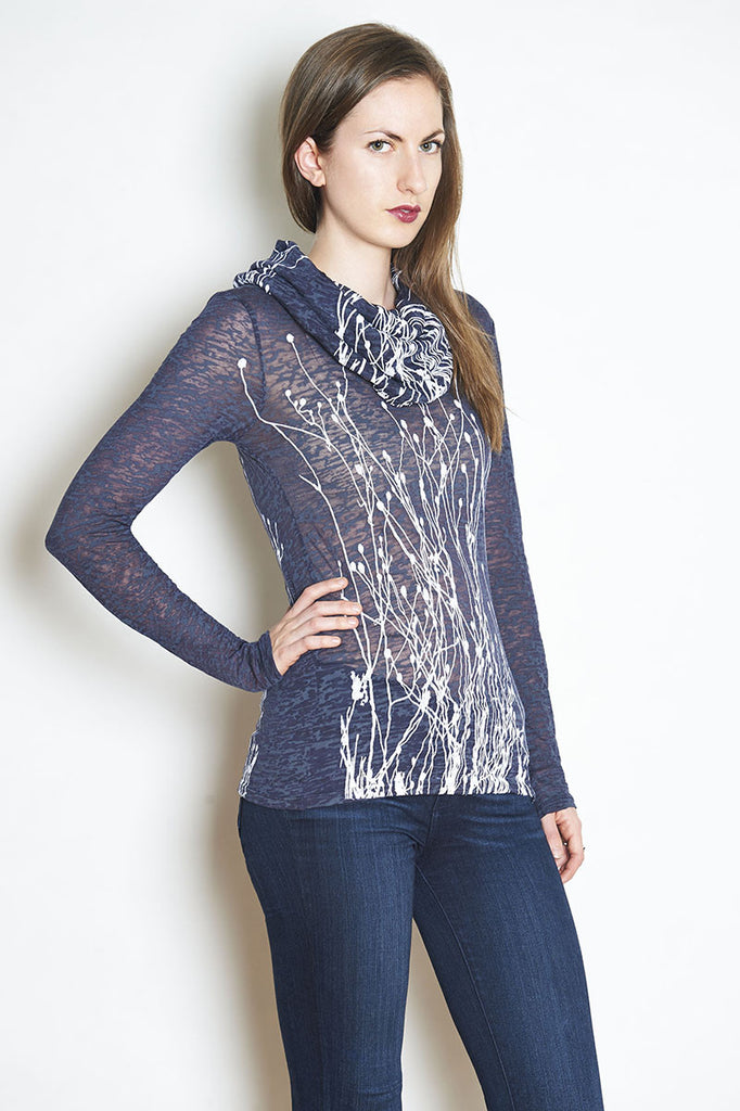 WABI SABI Field Cowl Short Sleeve- with discount code is $40.50