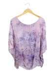 Wabi Sabi Sale-Flower Dye Caftan Half-with code is $88.50