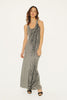 Big Branch Maxi Dress-Gray