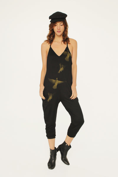 Birds Jumper Black