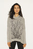 WABI SABI SALE Field Heather Gray Cowl Sweater