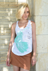 WABI SABI SALE Hummingbird Tank-with discount code is $21