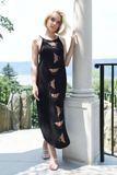 WABI SABI SALE Spinning Birds Dress Black