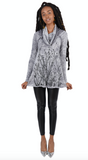 WABI SABI SALE Field Cowl with Dark Gray Print with discount code is $41.25