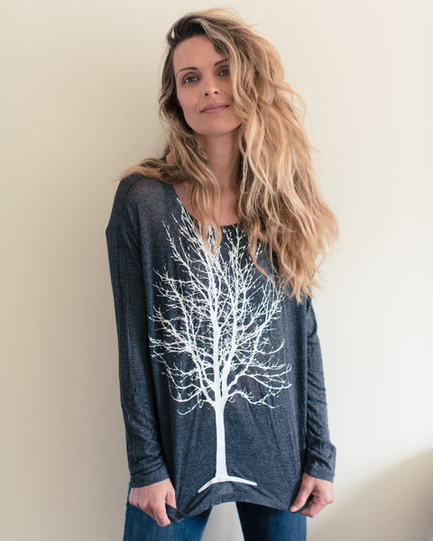 Single Tree Long Sleeve Top