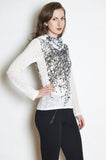 Wildflower Long Sleeve Burnout Cowl