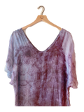Flower Caftan : Rose Petals + Indigo- with code is $96