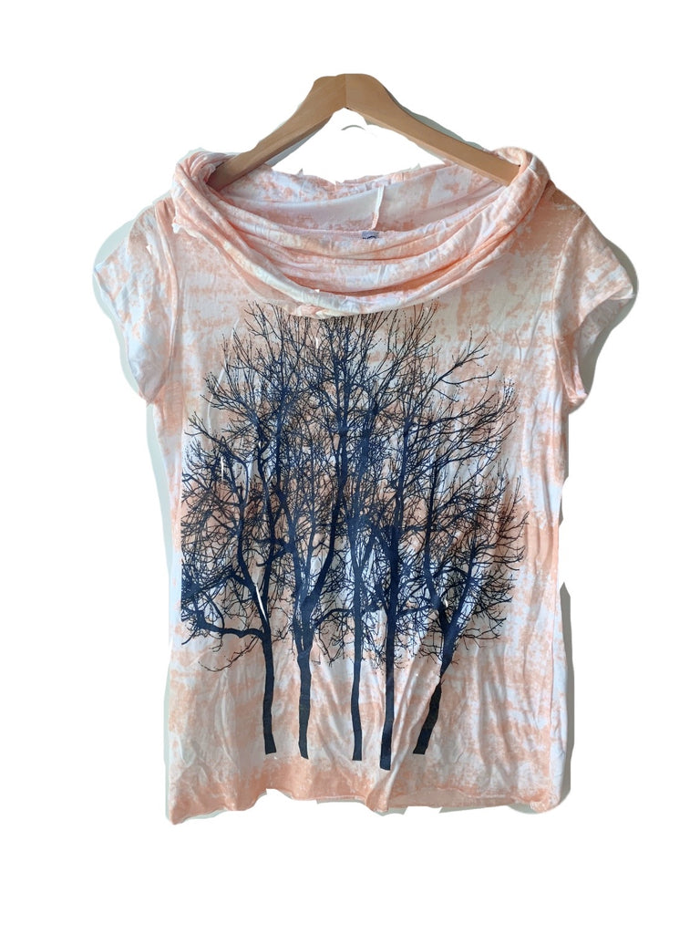 Wabi sabi sale Fairytale Tree Cowl Short Sleeve-with code discount is $43.50 - Limited Edition