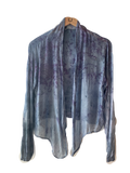 Flower Dyed Cardigan-Rose + Indigo with code is $81