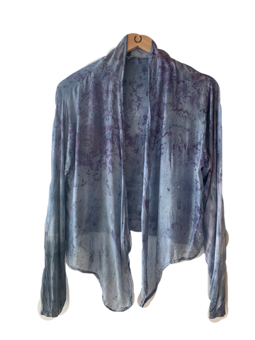 Flower Caftan : Indigo - SECOND