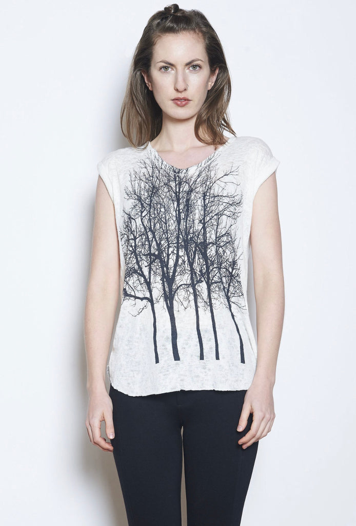 Fairytale Trees Cuff Tee Grey- with code is $43.50 LIMITED EDITION FAVORITE PIECE!