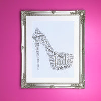 Bespoke Order - Extra Large print in Silver Ornate Frame
