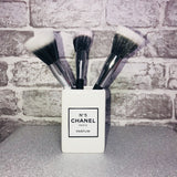 White Ceramic Brush Holder