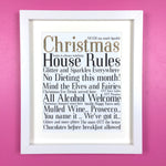 Christmas House Rules