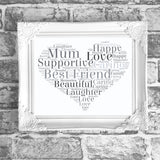 Mum Nanny Grandma Best Friend standard Design