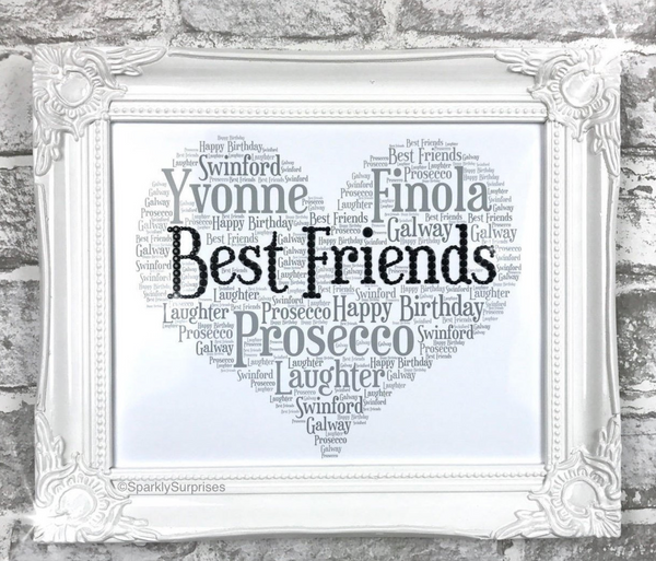 BEST FRIEND Best Friend Gift For Friends Birthday 50th 21st
