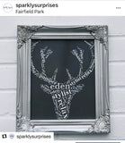 Stag Head shape  Design