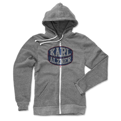Mens Zip Hoodie Heather Gray