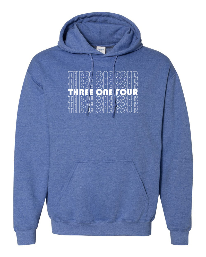 Three One Four - Hoody