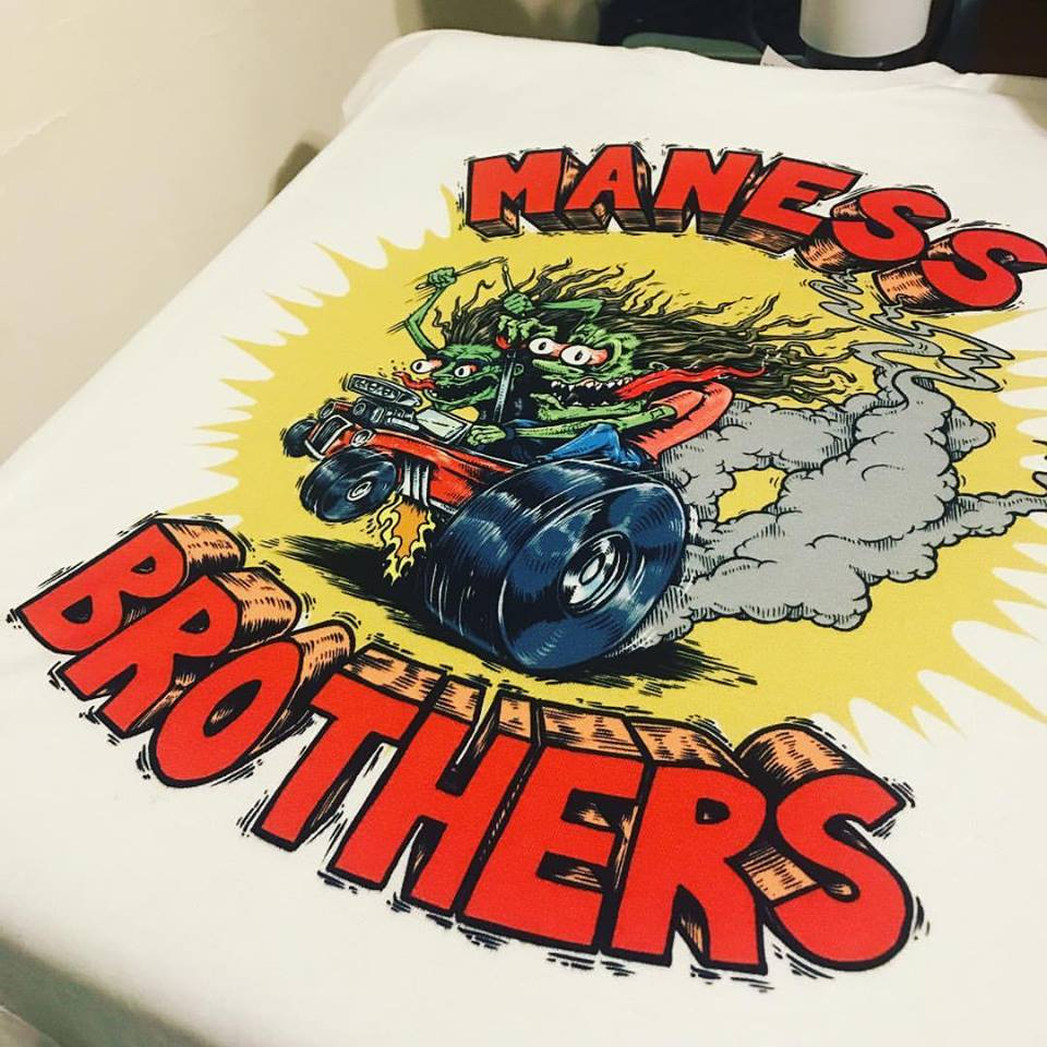 Maness Brothers Rat Fink Tshirt