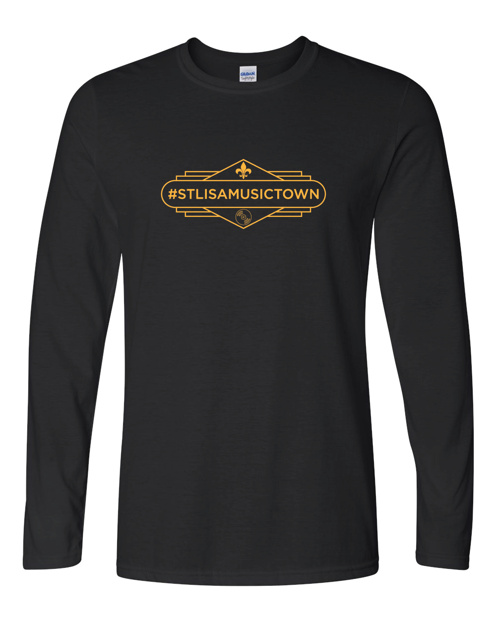STL IS A MUSIC TOWN Gaslight Long Sleeve