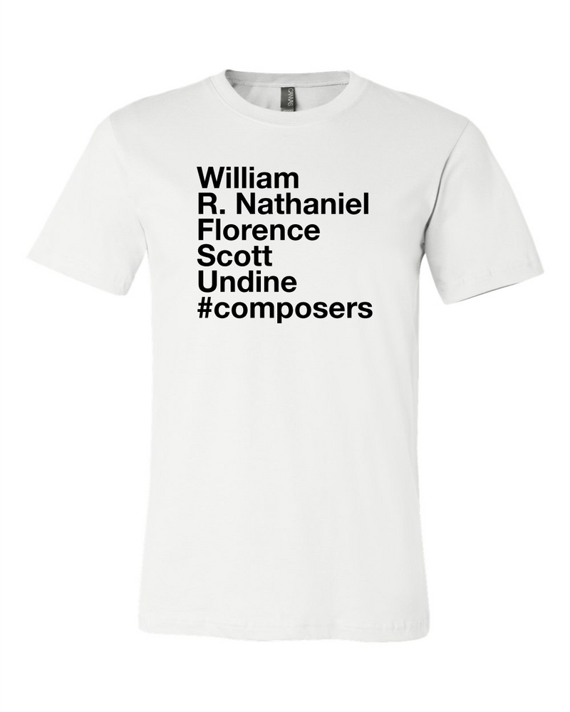#Composers - Tee