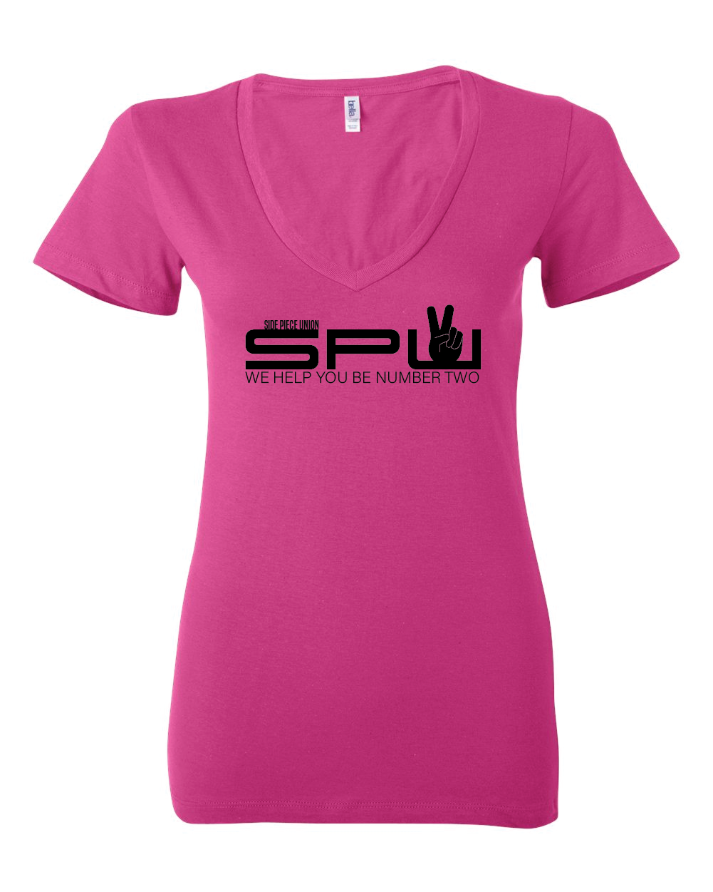 Side Piece Union - V-Neck