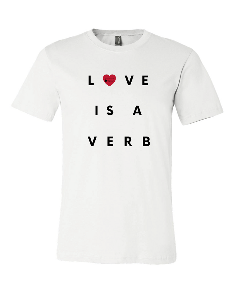 Love is a Verb - Tee