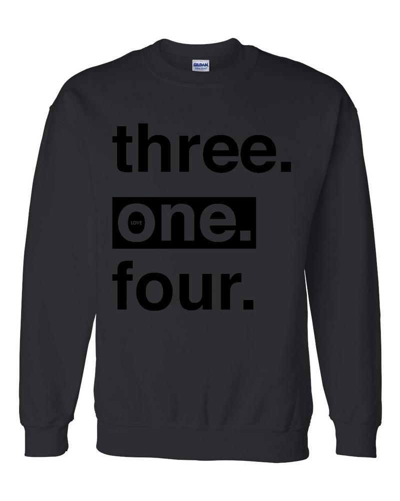 Three One Four - Sweatshirt