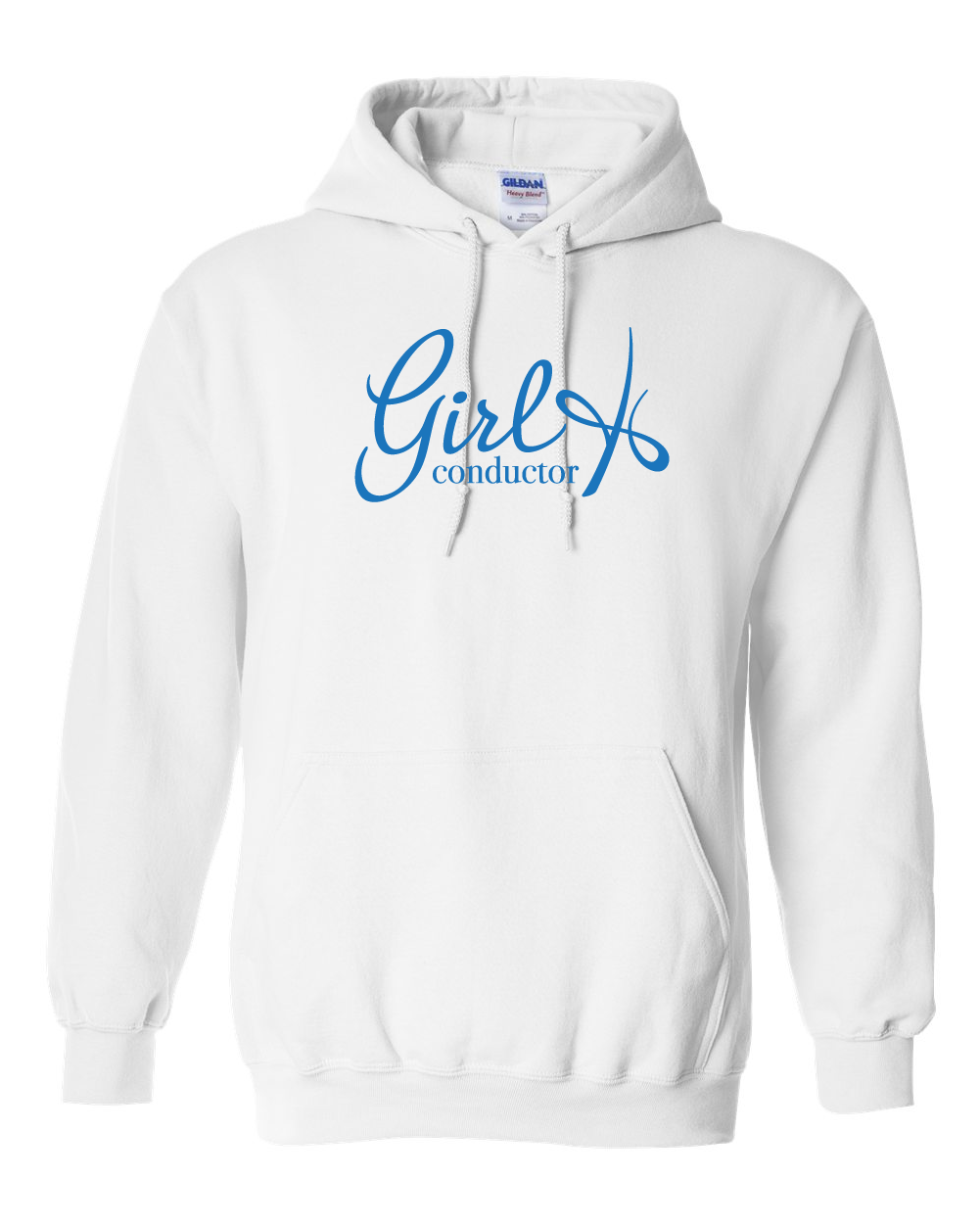 Girl Conductor - Hoodie White