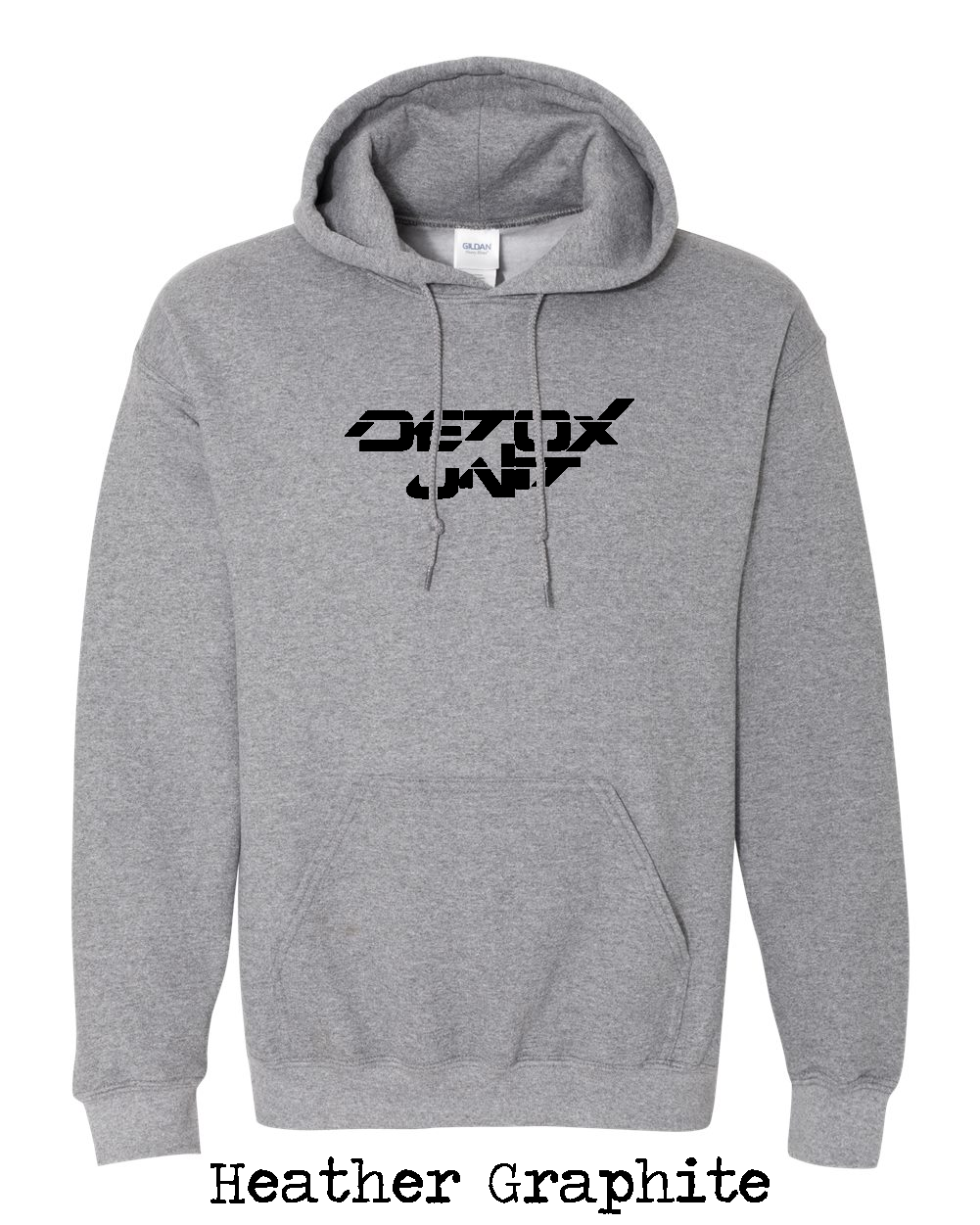 Detox Unit Text - Hoody