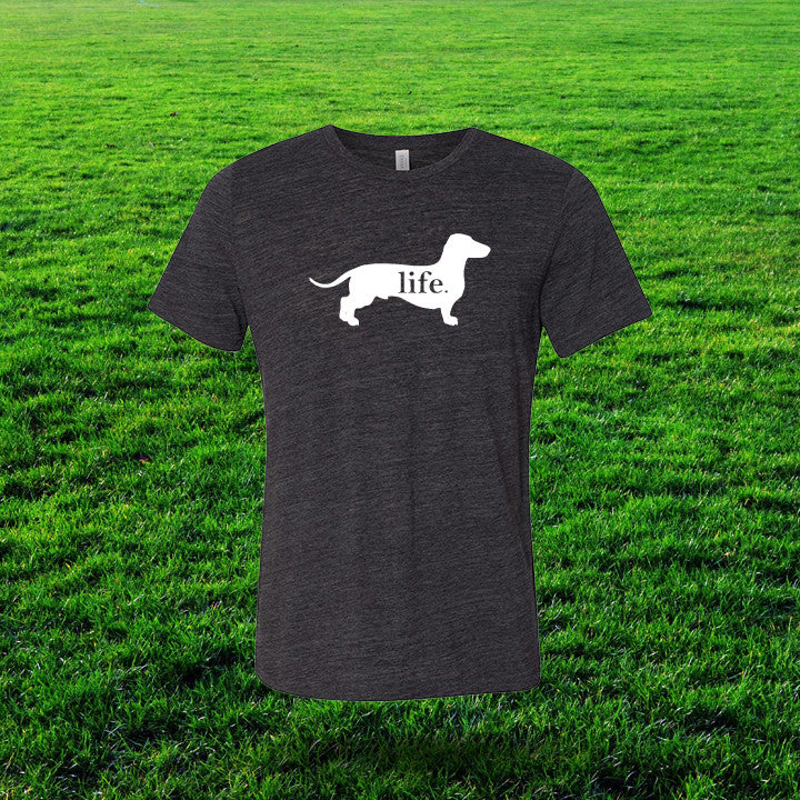 Dachshund 'Dog Life' Gents T